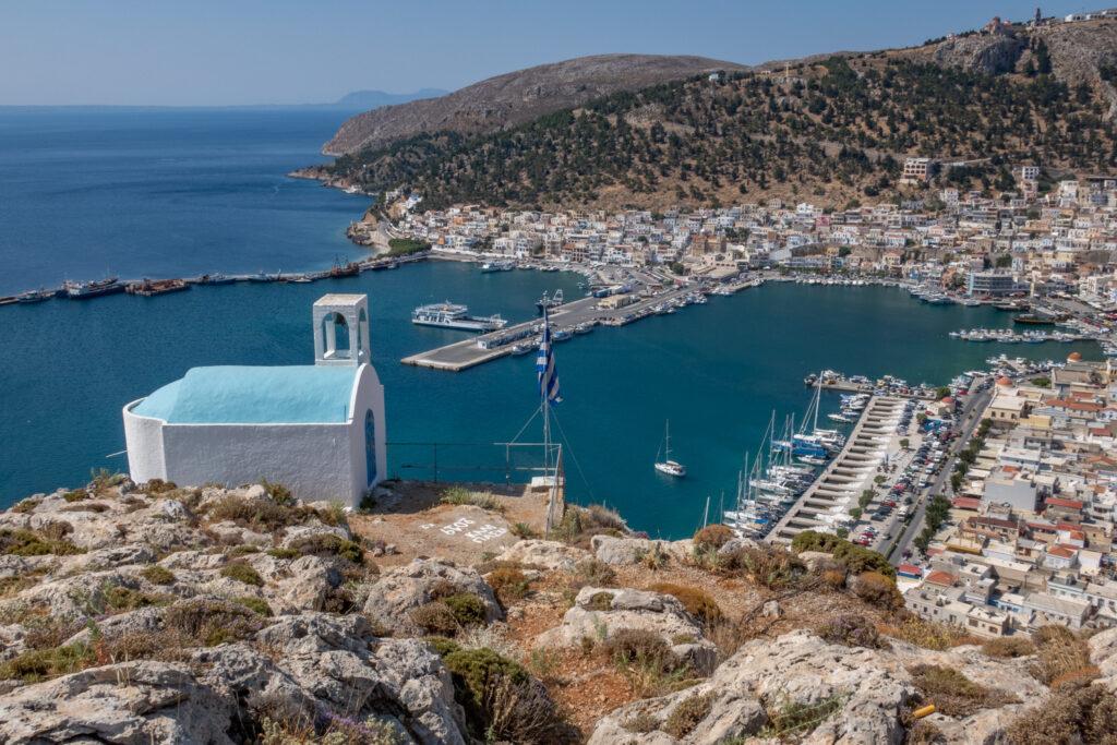 Kalymnos från ovan